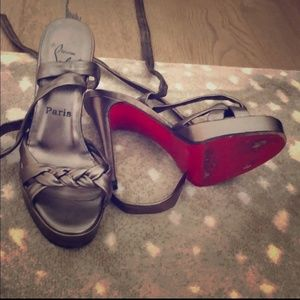 Christian Louboutin sexy strappy sandal
